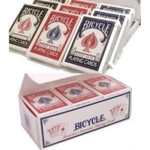 BICYCLE (バイスクル) ライダーバック (ポーカーサイズ) 【レッド×72 / ブルー×72】 1グロス