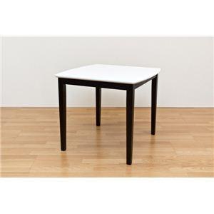 グランツ ダイニングテーブル 80cm幅 ブラウン - 拡大画像