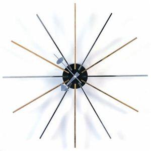 ジョージ・ネルソン スタークロック 掛け時計 - 拡大画像
