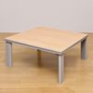折れ脚フラットヒーターこたつテーブル(折りたた...の紹介画像2