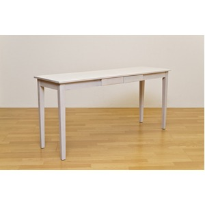 木製テーブル 【長方形 150cm×45cm】ホワイト