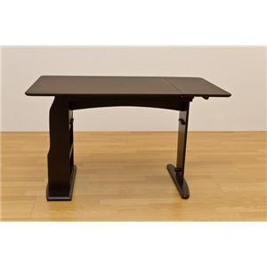 伸長式ダイニングテーブル/エクステンションテーブ...の商品画像
