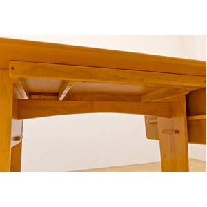 伸長式ダイニングテーブル/エクステンションテー...の紹介画像5