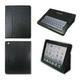 iPad2用 多機能レザーケース (ブラック)
