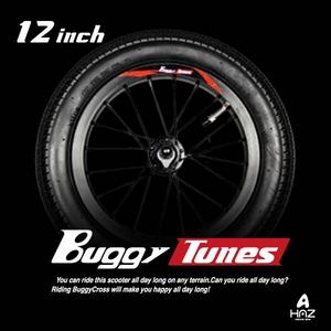Buggytunes バギークロス専用 12インチオンロードスペアタイヤ - 拡大画像