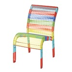 COLORS KID`S CHAIR RED MIX