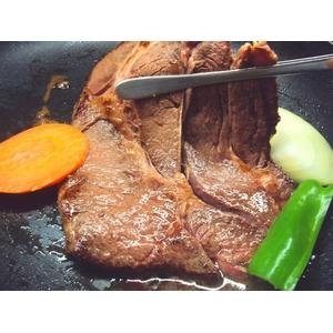 焼肉問屋 ジャンボ熟成ロースステーキ 4人分 1kg(1人前250g) - 拡大画像