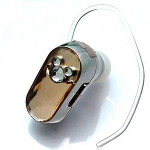 Rix(リックス) ディズニー (Disney) Bluetoothミッキーシルエットイヤホンマイク (ゴールド) RX-DNYBT1GD - 拡大画像