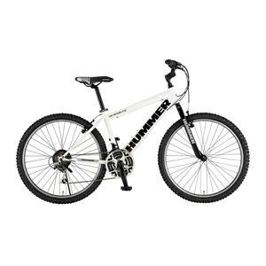 自転車 HUMMER(ハマー) ATB268 BX ホワイト - 拡大画像