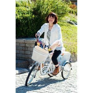 大人用三輪自転車 シニア・高齢者 三輪車・自転車 ノーパンクタイヤ スイングチャーリー ホワイト
