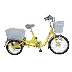 【送料無料】 SWING CHARLIE ノーパンク三輪自転車内装3S MG-TRF203SWN YE