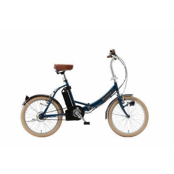 SUISUI 20インチ電動アシスト折畳自転車 KH-DCY310