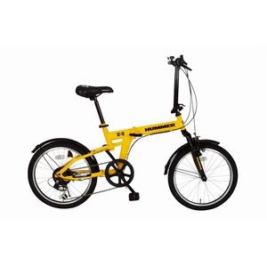 折畳み自転車 HUMMER FサスFDB20 6S MG-HM206 - 拡大画像