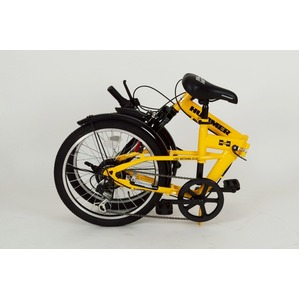 折畳み自転車 HUMMER FサスFDB20 6S MG-HM206