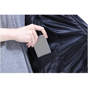 【ベスト単品】洗える電熱ウエア ヒートベスト(男女兼用)  Mサイズ