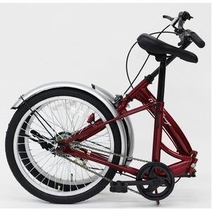 折りたたみ自転車 【シングルギア 20インチ】...の紹介画像2