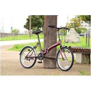 折りたたみ自転車 【シングルギア 20インチ】...の紹介画像3