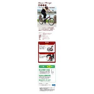 折りたたみ自転車 【シングルギア 20インチ】...の紹介画像4