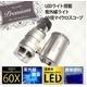 LEDライト・紫外線ライト付き 60倍小型マイクロスコープ