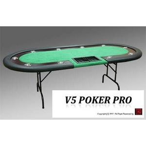 V5 PokerPro(ポーカープロ)ポーカーテーブル  - 拡大画像