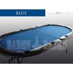 ポーカーテーブル (C10-LIGHT) (2折・軽量タイプ)ブルー