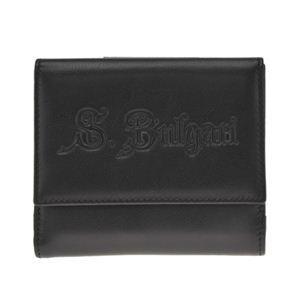 BVLGARI(ブルガリ) 32558 BLACK ダブルホック財布 【ブランド箱入り】 - 拡大画像