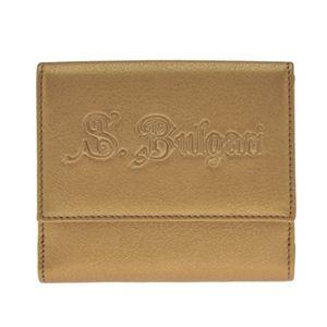 BVLGARI(ブルガリ) 32851 BRONZE ダブルホック財布 【ブランド箱入り】 - 拡大画像