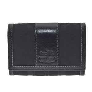 COACH(コーチ) 41572 BBKBK 二つ折りファスナー付財布
