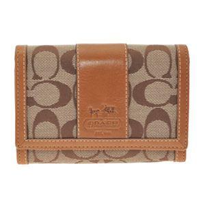COACH(コーチ) 41572 BKHTN 二つ折りファスナー付財布