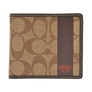 COACH(コーチ) 74084 BKHMA 二つ折り財布(小銭入れ付)