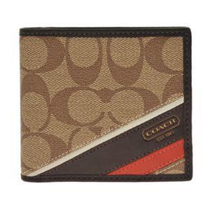 COACH(コーチ) 74216 KH MA 二つ折り財布(小銭入れ付)