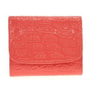 Folli Follie(フォリフォリ) WA0L026SP PINK 二つ折り財布
