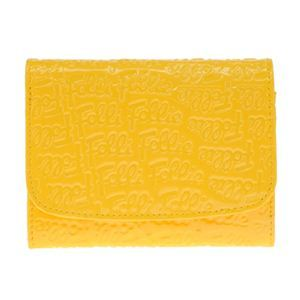 Folli Follie(フォリフォリ) WA0L026SY YELLOW 二つ折り財布