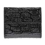 Folli Follie(フォリフォリ) WA0L027SK BLACK 三つ折り財布