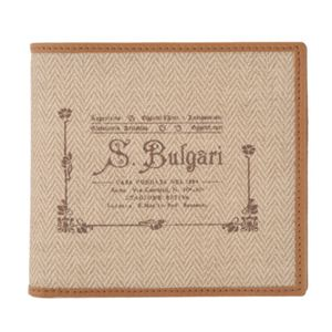 Bvlgari(ブルガリ) 二つ折り財布 32013 NATURAL