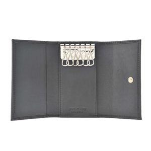【訳あり・在庫処分】BVLGARI(ブルガリ) 32583 BLACK 6連キーケース 【ブランド箱入り】 h03