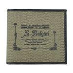 Bvlgari(ブルガリ) 32012 BROWN 二つ折り財布(小銭入れ付)【ブランド箱入り】