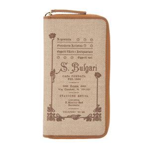 Bvlgari(ブルガリ) 32044 NATURAL 長財布(ラウンドファスナー) 【ブランド箱入り】 - 拡大画像