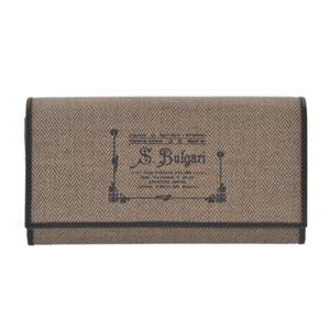 Bvlgari(ブルガリ) 32052 BROWN 長財布(ファスナー付)【ブランド箱入り】 - 拡大画像