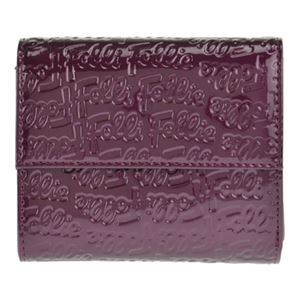Folli Follie(フォリフォリ) WA0L027SV/VIO 三つ折り財布 - 拡大画像