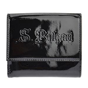 BVLGARI(ブルガリ) 31270 BLACK ダブルホック財布 - 拡大画像
