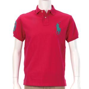 Ralph Lauren(ラルフローレン) MNBLKNIM1A10045/D53PINK/S ポロシャツ半袖