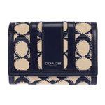COACH(コーチ) 49994/SV/NV 二つ折り財布