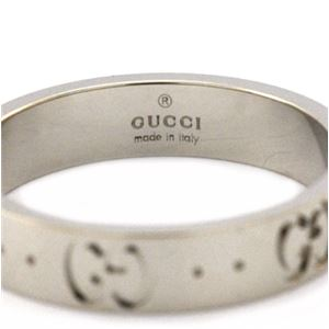GUCCI(グッチ) 073230-09850/9000/13 リング h03