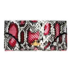 Vivienne Westwood(ヴィヴィアン・ウエストウッド) 1032V-FRILLY SNAKE/CHER 長財布