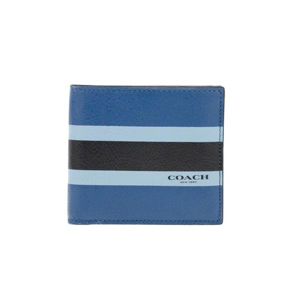 Coach (コーチ) F75137/DEN/1 二つ折り財布f00