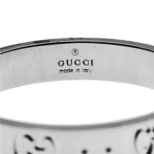 Gucci (グッチ) 073230-09850/9000/25 リング h03