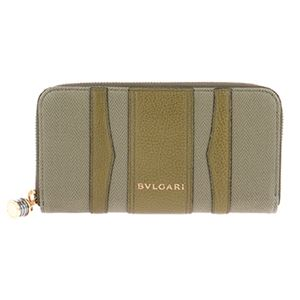 Bvlgari (ブルガリ) 33775 CANVAS/BRW 長財布 h01