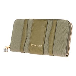 Bvlgari (ブルガリ) 33775 CANVAS/BRW 長財布 h02