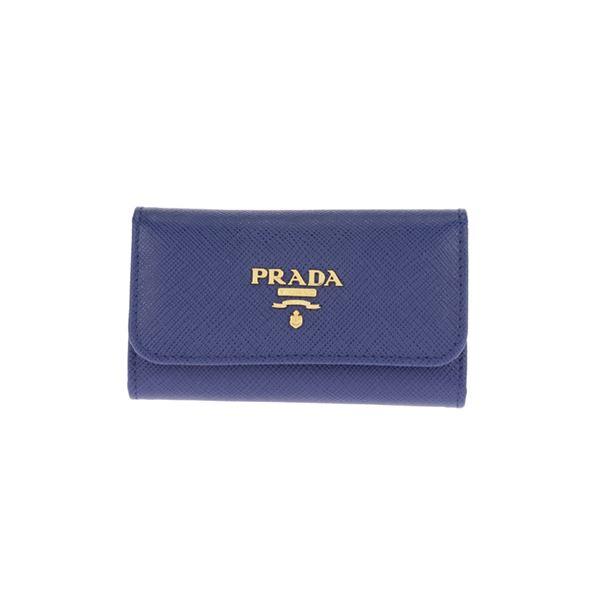 Prada (プラダ) 1PG222 S/ME/BLUETTE キーケースf00